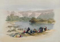 Banks of the Jordan, April 2nd 1839 by David Roberts