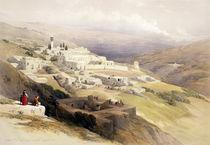Convent of the Terra Santa by David Roberts