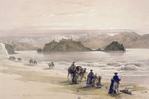 Isle of Graie, Gulf of Akabah by David Roberts