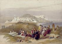 Jaffa, ancient Joppa, April 16th 1839 von David Roberts