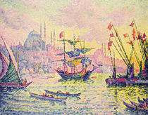 View of Constantinople, 1907 von Paul Signac