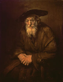 Portrait of an Old Jew by Rembrandt Harmenszoon van Rijn