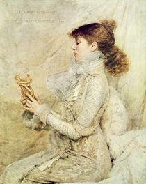 Portrait of Sarah Bernhardt 1879 von Jules Bastien-Lepage