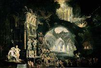 Hell, 1622 by Francois de Nome