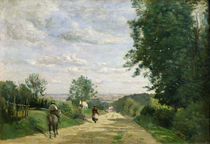 The Road to Sevres, 1858-59 by Jean Baptiste Camille Corot