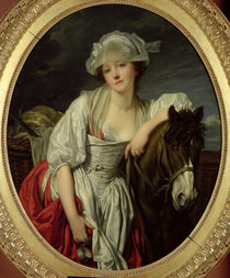 The Milkmaid von Jean Baptiste Greuze