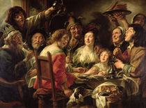 The King Drinks by Jacob Jordaens