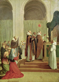 The Mass of St. Martin of Tours von Eustache Le Sueur