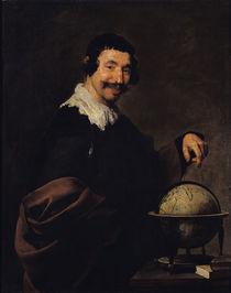 Democritus, or The Man with a Globe von Diego Rodriguez de Silva y Velazquez