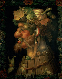 Autumn, from a series depicting the four seasons by Giuseppe Arcimboldo