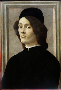 Portrait of a Man von Sandro Botticelli