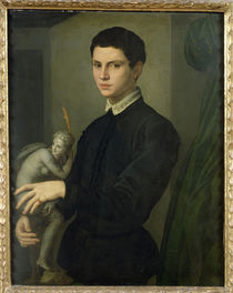 Portrait of a Sculptor, possibly Baccio Bandinelli by Agnolo Bronzino