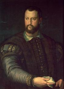 Portrait of Cosimo I de' Medici 1559 von Agnolo Bronzino