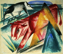 Animals, 1913 by Franz Marc
