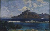Coastal Martinique Landscape by Paul Gauguin