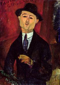 Paul Guillaume Novo Pilota by Amedeo Modigliani