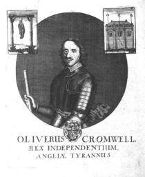 Oliver Cromwell, King of Independence by English School