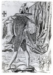 Portrait of George Villiers by English School