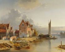 Belgian Riverside, 1858