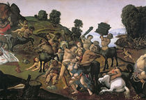 The Fight Between the Lapiths and the Centaurs von Piero di Cosimo