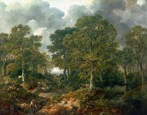 Gainsborough's Forest , c.1748 von Thomas Gainsborough