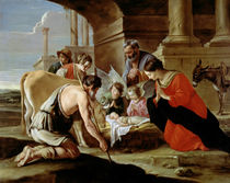 The Adoration of the Shepherds von Antoine and Louis & Mathieu Le Nain