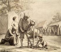 Acrobats at the Fair c.1865-69 von Honore Daumier