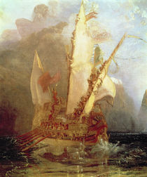 Ulysses Deriding Polyphemus by Joseph Mallord William Turner