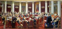 The Ceremonial Sitting of the State Council von Ilya Efimovich Repin