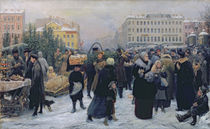Christmas Fair von Heinrich Matvejevich Maniser