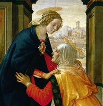 The Visitation, 1491 by Domenico Ghirlandaio