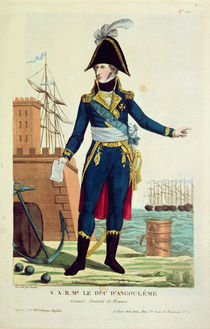 Louis-Antoine de Bourbon Duke of Angouleme von Thomas Naudet