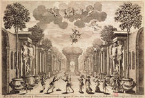 Set design for 'Andromede' by Pierre Corneille 1651 von Francois Chauveau