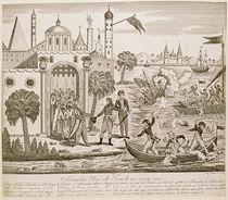 Napoleon I Landing in Alexandria by French School