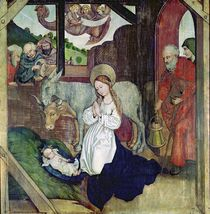 The Nativity, from the Altarpiece of the Dominicans von Martin Schongauer