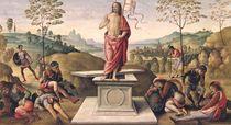 The Resurrection of Christ by Pietro Perugino