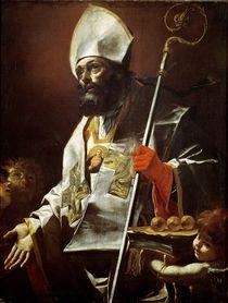 St. Nicholas of Bari von Mattia Preti