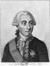 Count Louis de Marbeuf 1829 by Jean Alexandre Allais