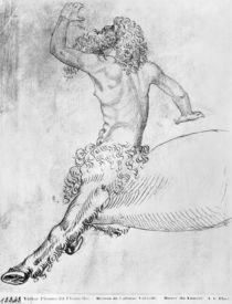 Centaur, from the The Vallardi Album von Antonio Pisanello