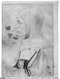 Monk, from the The Vallardi Album von Antonio Pisanello