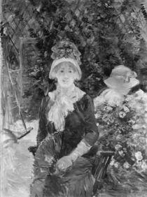Young Woman in a Garden, 1883 von Berthe Morisot