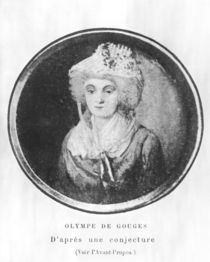 Olympia of Gouges by French School