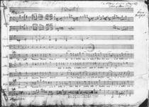 Sunday Vespers, 1779 by Wolfgang Amadeus Mozart