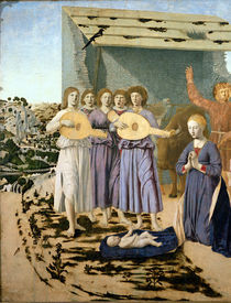 Nativity, 1470-75 by Piero della Francesca