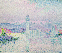 The Lighthouse at Antibes, 1909 von Paul Signac