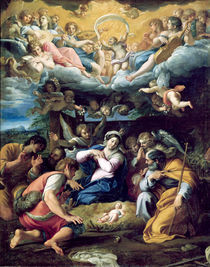 The Nativity, c.1596-98 by Annibale Carracci
