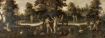 Adam and Eve Banished from Paradise by Flemish School