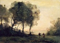 Souvenir of Italy by Jean Baptiste Camille Corot