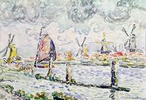 Overschie, 1906 von Paul Signac