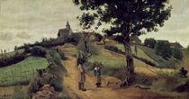 Saint-Andre-en-Morvan, 1842 by Jean Baptiste Camille Corot